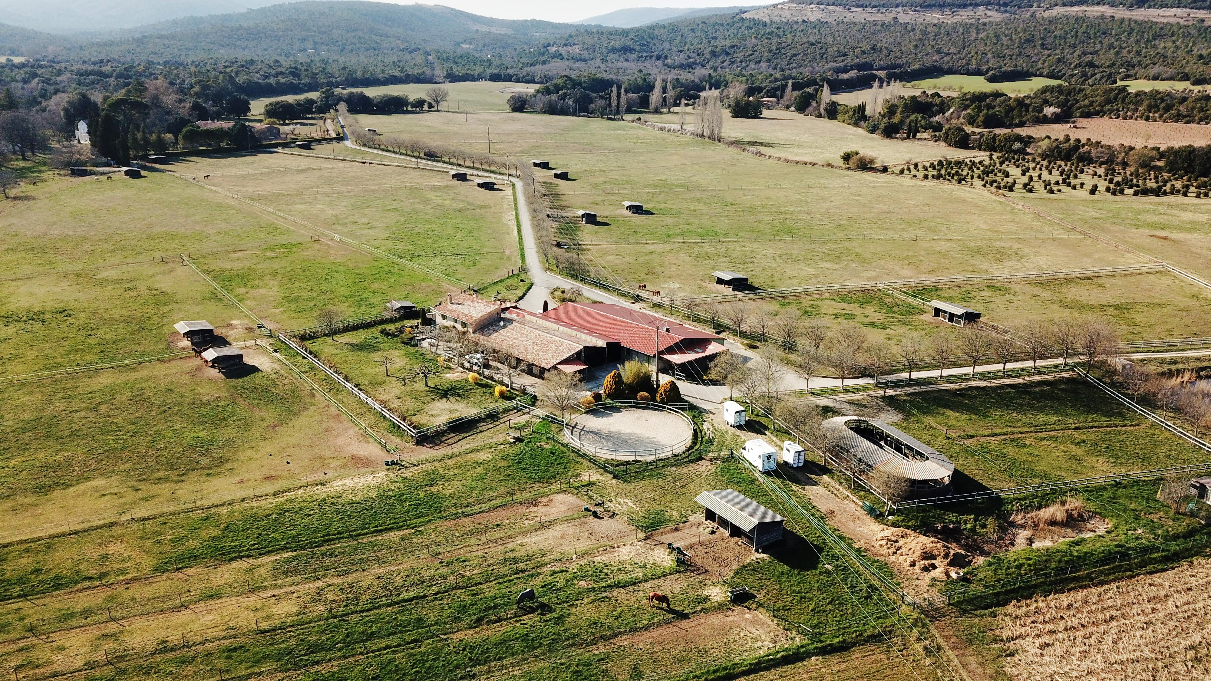 Haras d'élevage sur 53 ha dans le Haut Var (83)