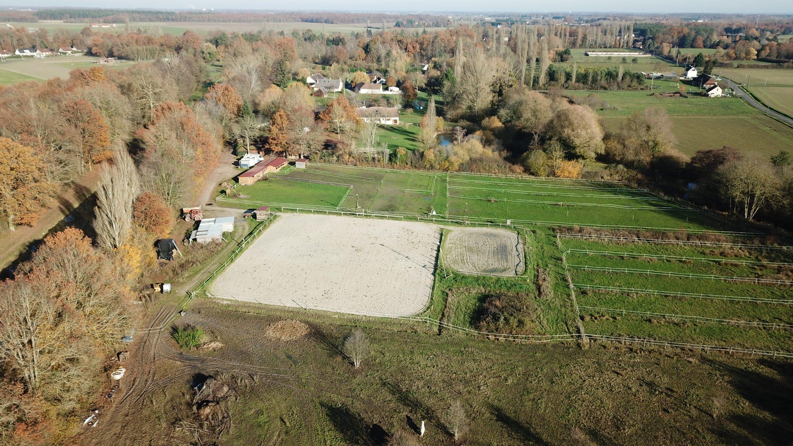 Centre équestre avec habitations – secteur Montargis (45)