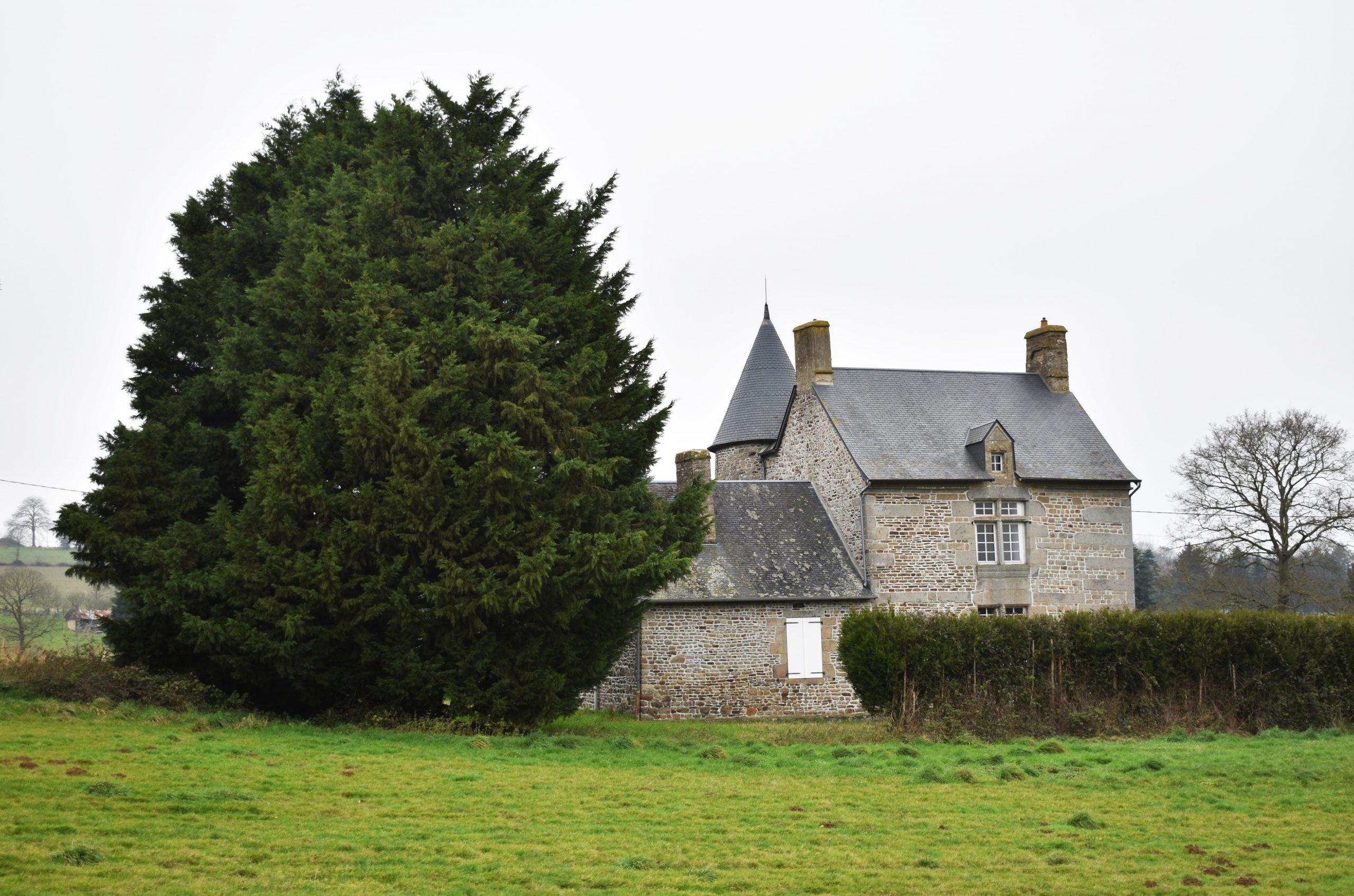 Joli Manoir et ses dépendances à rénover sur 16 ha, secteur Saint-Hilaire-du-Harcouët (50)