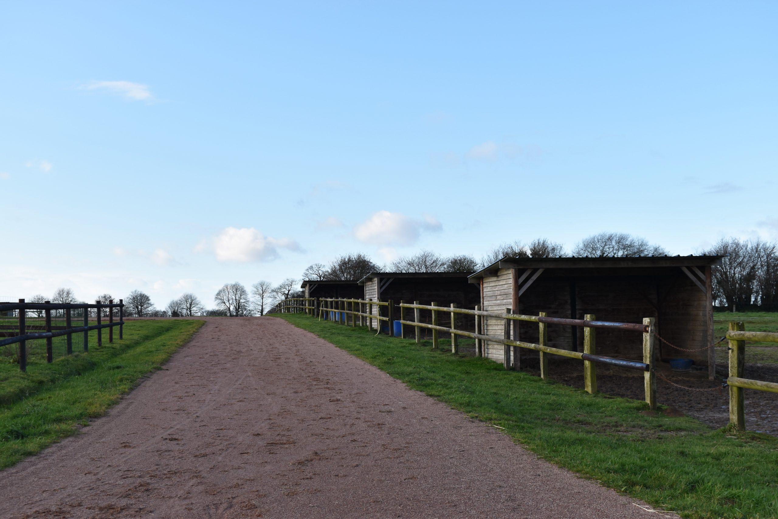 Ecurie de course sur 17 ha – Secteur d'Avranches (50)