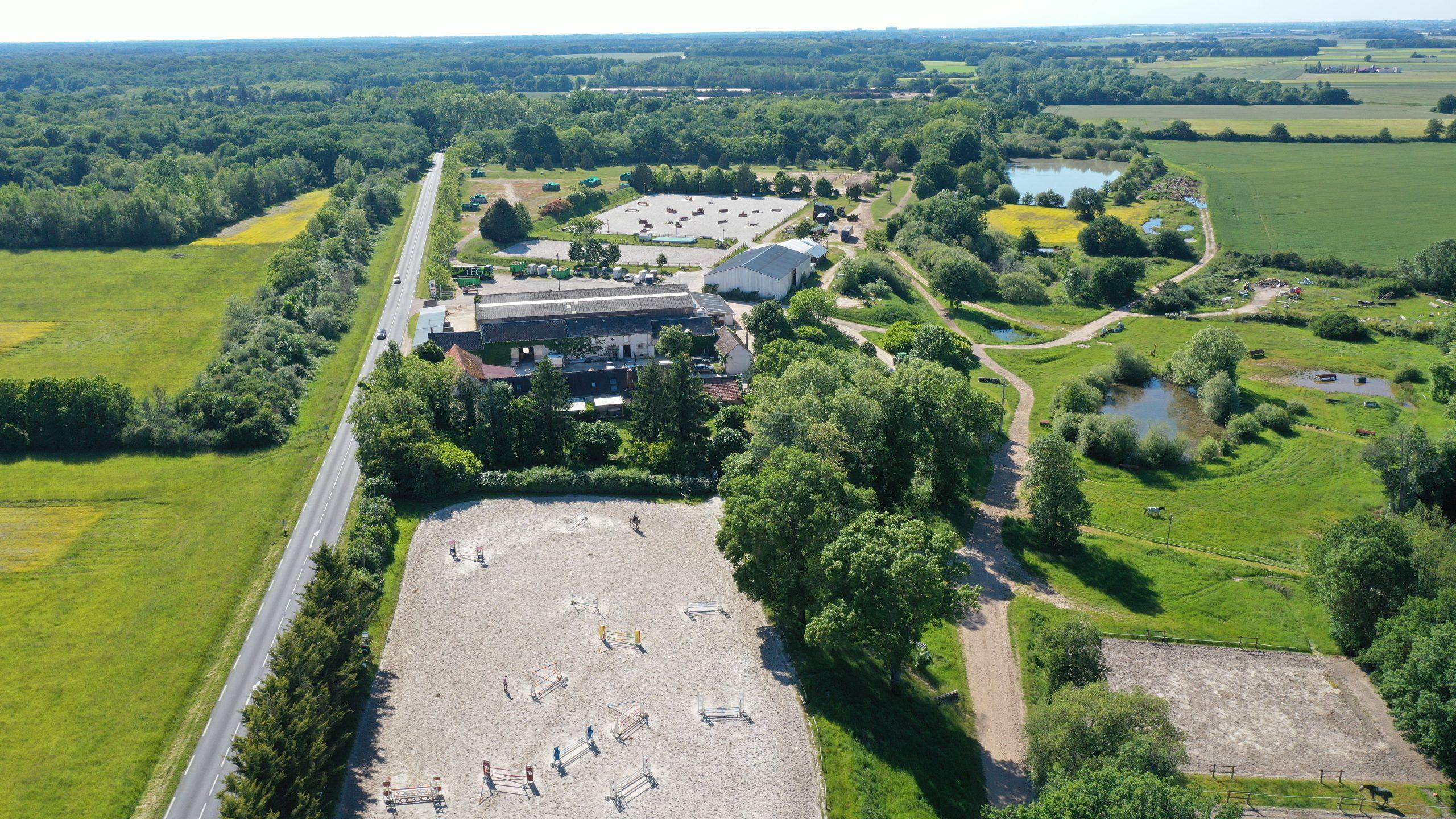 Ecurie de propriétaires sur 28 ha proche d'Orléans (45)
