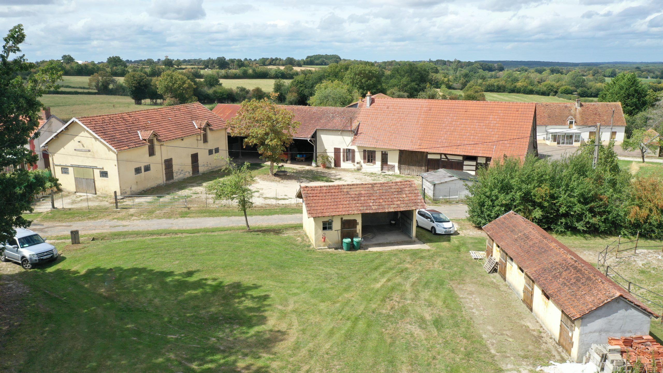 Ecurie de loisirs sur 3 ha secteur Aubigny (18)