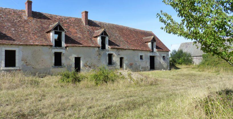 Ferme du  XVII e siècle à rénover sur 1,5 ha (37)