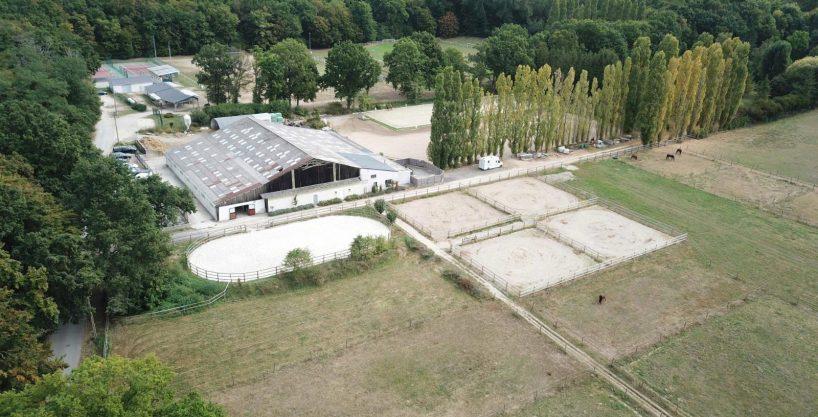 Ecurie de propriétaires et de sport sur 5,2ha- proche Chantilly (60)