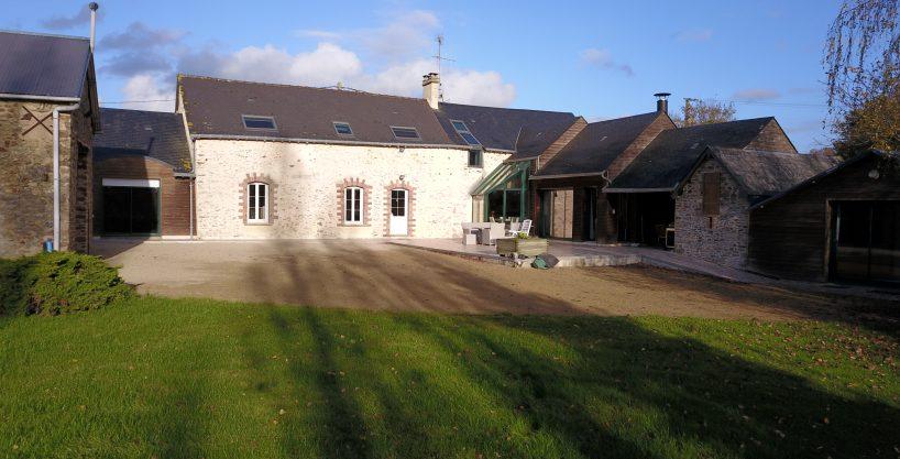 Habitation et ses installations équestres sur 2ha _ Secteur Laval (53)