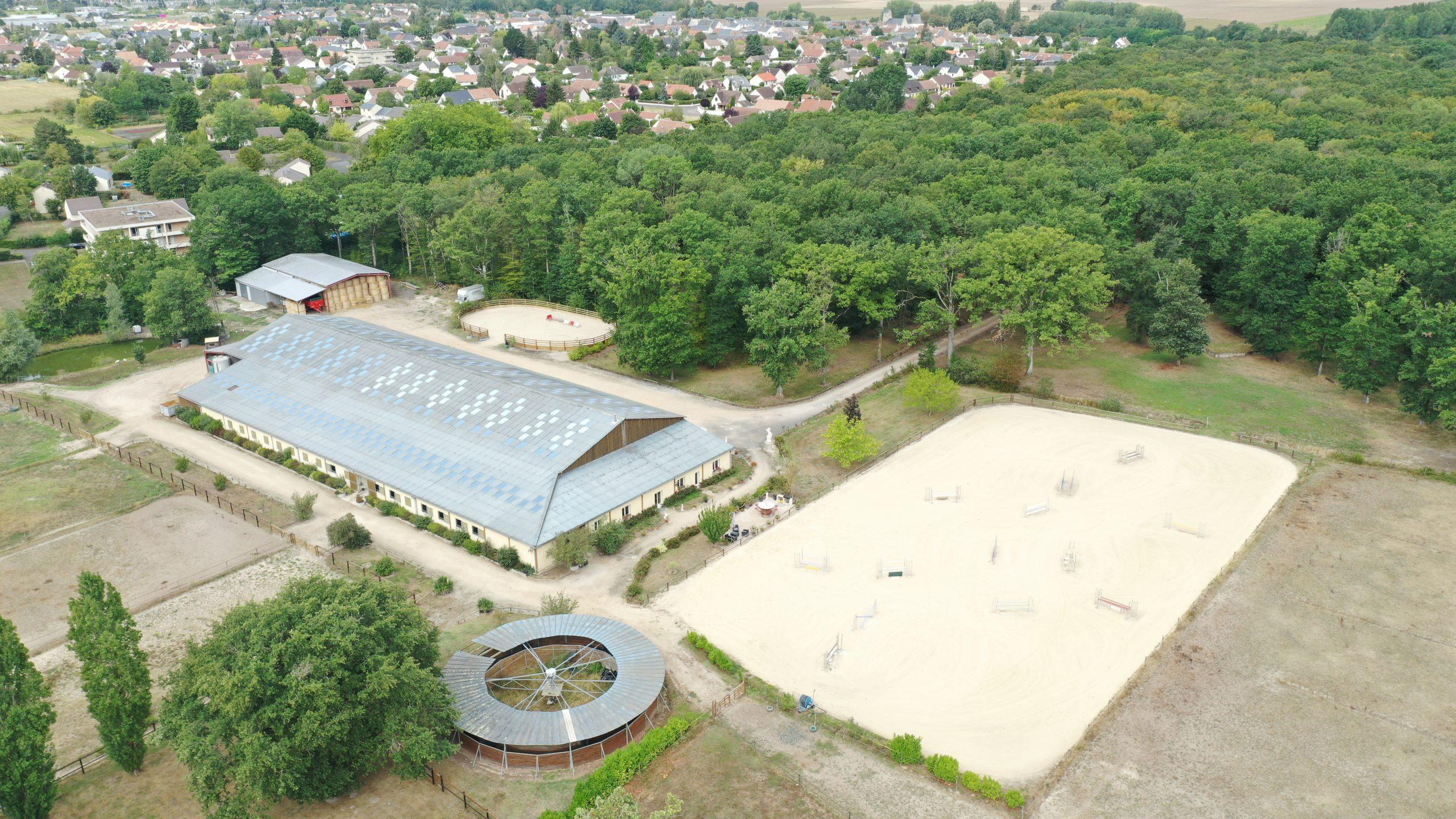 Location écurie de Sport sur 10 ha en Sologne (41)