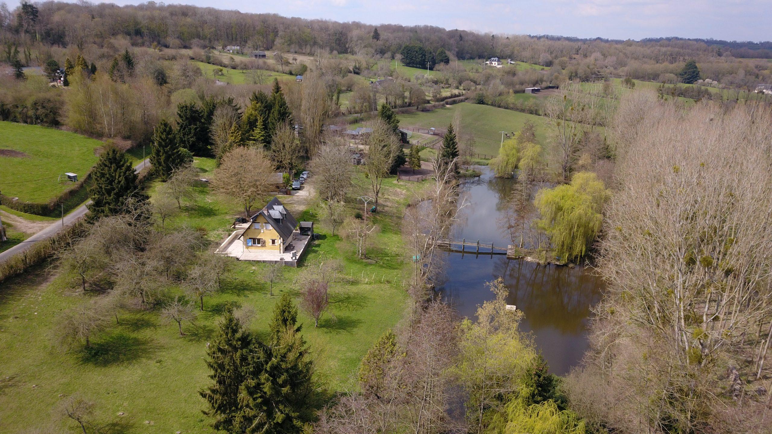 Jolie propriété équestre et son étang – Secteur Gacé (61)